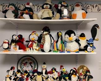 Penguins, penguins & more penguins.