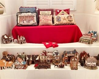 Department 56 Christmas Houses and collectibles