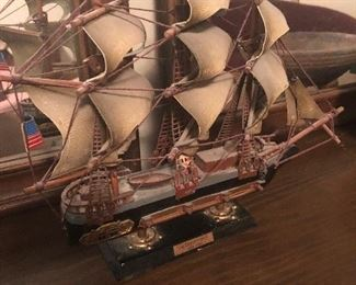 smaller model ship