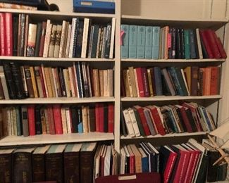 Some books were sold before we took over so not all books may be here. But we still have a lot