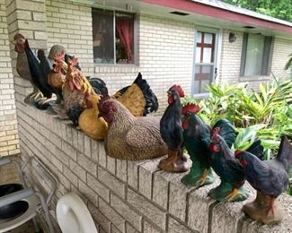 Introducing the newest hit pop group the VonCluck family - folks I'm telling you, the bricks are alive with the sound of music
