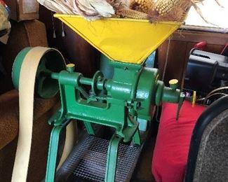 Burring mill