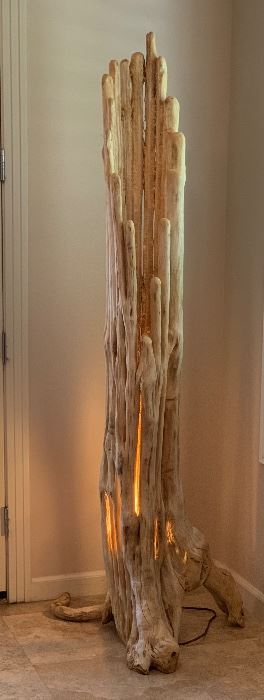Saguaro Skeleton Cactus Floor Lamp	79x24x29in	HxWxD	AH100