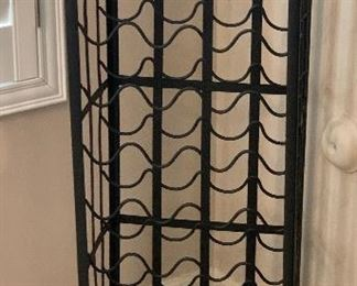 Rustic Iron Wine Rack	44.5x15.5x11.5in	HxWxD	AH102