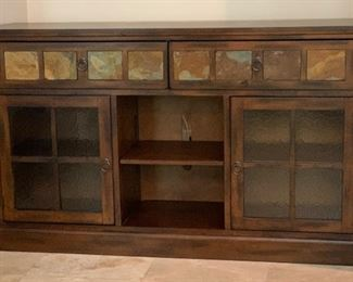 Sunny Designs Santa Fe 60in TV/Media Console Cabinet	36x60x16.5in	HxWxD	AH118