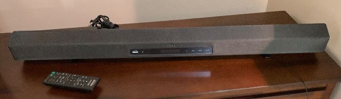 Sony Soundbar/Subwoofer Home Theater System HT-CT260			AH120