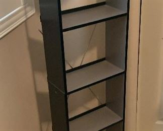 Black/Grey DVD/CD Rack	50x17x11in	HxWxD	AH162