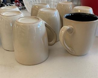 9pc Pfaltzgraff Coffee Mugs			AH183