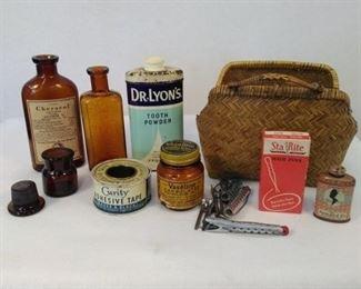 Antique Drug Items