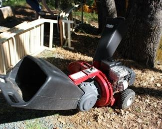 Craftsman chipper shredder