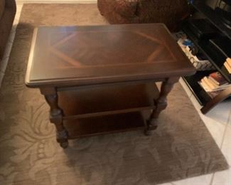 End Table Wood Inlay $40