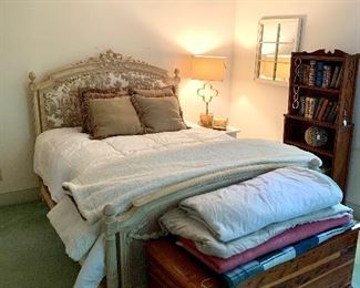 Antique French Country bed...featured in House Beuatiful!