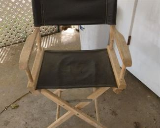 canvas wood directors chair