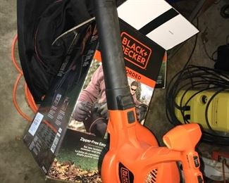 Black and Decker electric blower