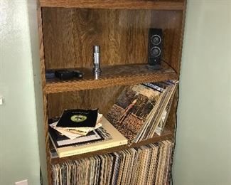 Book case and more albums