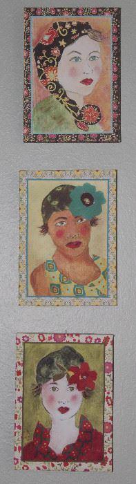 Gilcee' on Canvas Fun Portraits (5x7)