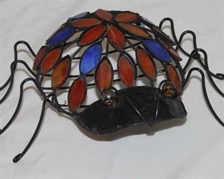 Large Stain Glass Spider
