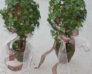 Artificial Silk  Greenery Topiary Trees (2 of 8 shown)