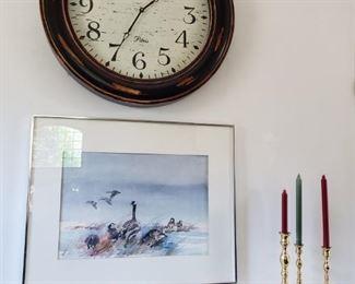 CLOCK, ARTWORK