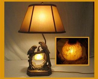 Pretty Parrot Lamp