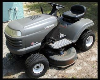 Craftsman Riding Lawnmower As Is