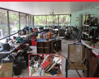 Loads of Tools and Treasures; Many Items can be used in Upcycling and Repurposing