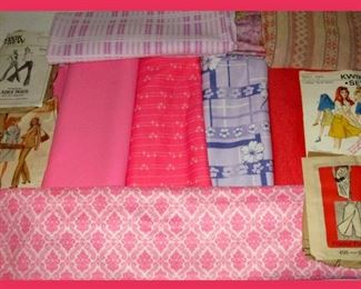 Vintage Fabric and Patterns