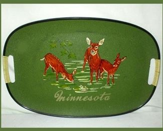 Vintage Minnesota Souvenir Tray