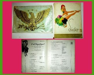 1950s Lido Book and Old Eagle Placemat