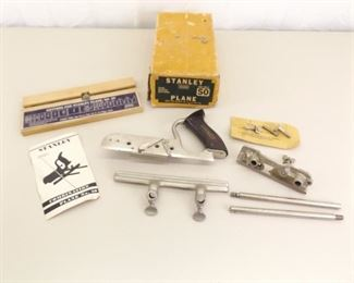 Vintage Stanley #50 Combination Plane with Cutters in Original Box
