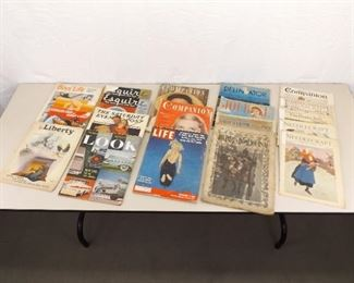 Lot of Antique and Vintage Magazines