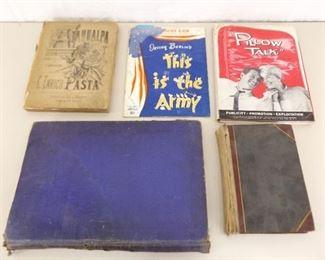 Lot of Misc Antique Publications, Press Junkets, Playbills, etc.