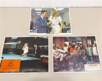 3 Authentic Easy Rider etc. Lobby Card Posters