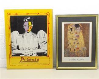 Picasso and Klimt Art