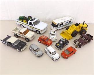 Lot of Misc Vintage Die Cast Cars, Trucks, etc.