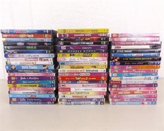 Large Lot of Kids DVD's