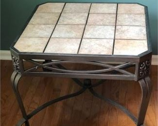 Lot 3 Tile Top Coffee Table
