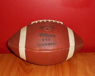 1969 Peach Bowl Game Ball