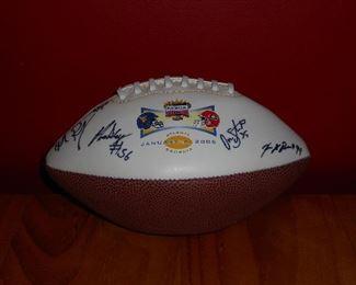 2006 Signed Sugar Bowl