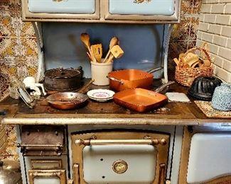 Copper Clad wood burning stove