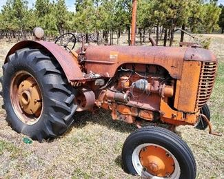 1940,s Case tractor