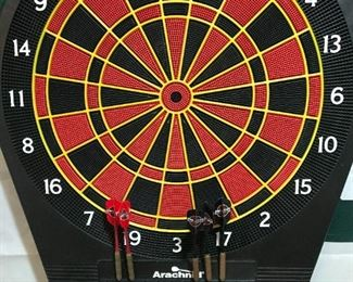 Electric dart board