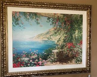 View of Pasitano by Liliana Frasca