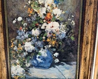 Spring bouquet by Monet with COA