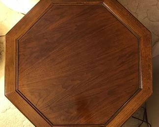 Top view pic of Octagon side table