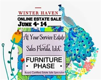 Beginning June 4 @ 6PM All items posted here will be available for purchase. Don't forget to visit Winter Haven Phase 1 too!!!