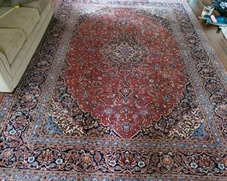 004 Very Lg Handknotted Wool Rug