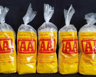 Winchester 410 Gauge AA Wads	 5 bags of Winchester 410 Gauge WAA41 wads. 250 Wads per bag for a total of 1,250 wads.
