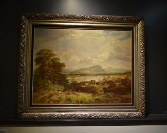 Vintage Reproduction of  an Original Painting by R.F.Lee Price  $ 145