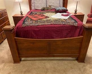Ashley Wooden Bedroom Set
